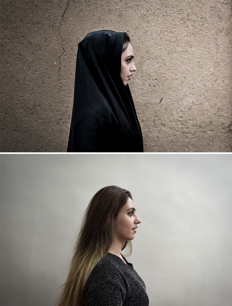 Shahrzad Needs An Islamic Veil In Iran, It's Mandatory Since The Islamic Revolution In 1979