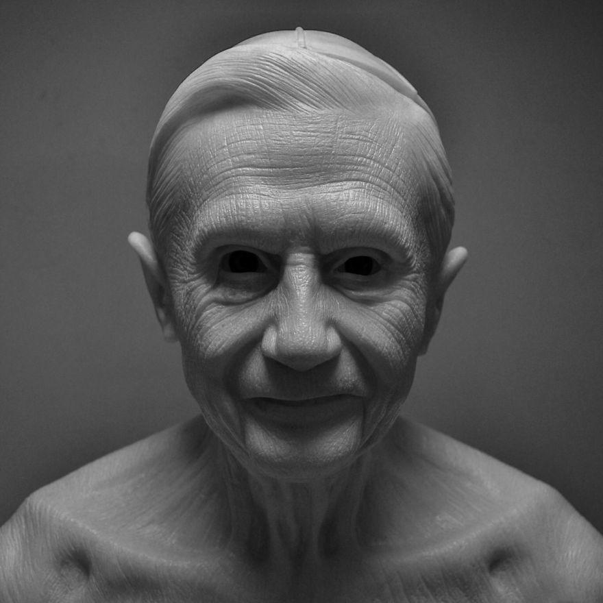 Self Taught Sculptor Creates Incredible Realistic