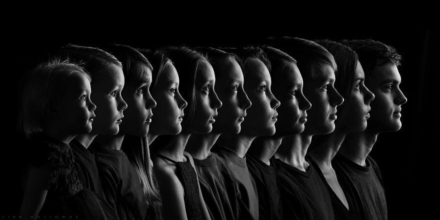 I Created An Heirloom Portrait Of My 11 Amazing Children