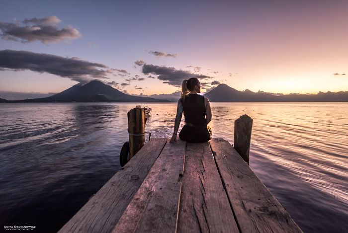I Took A Photos Of Beauty And Mysterious Of Lake Atitlan In Guatemala, Called The Mayan Atlantis.