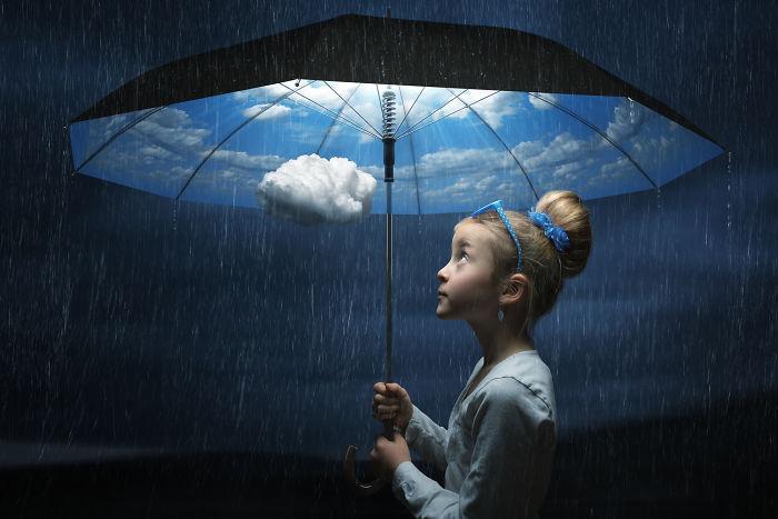 El paraguas del buen tiempo