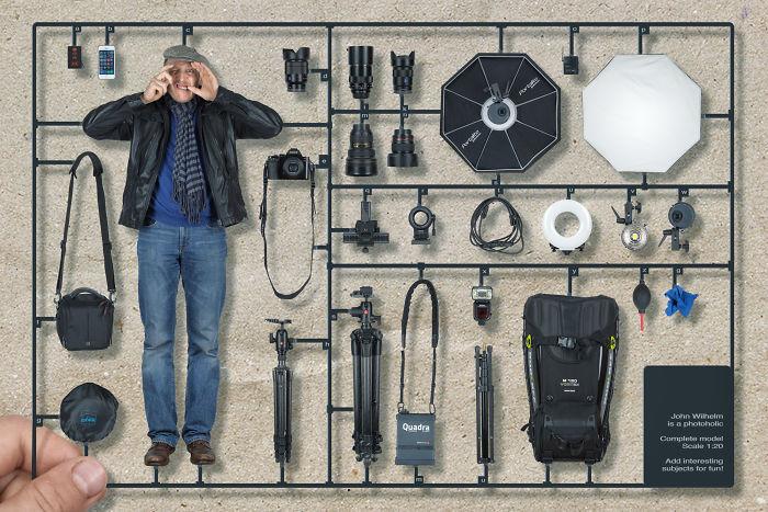 Kit de construcción del fotoadicto
