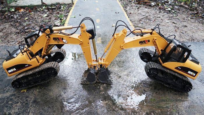 Excavator For Children, Truck, Dump Truck, Cranes Water Pipeline Construction, Videos For Kids
