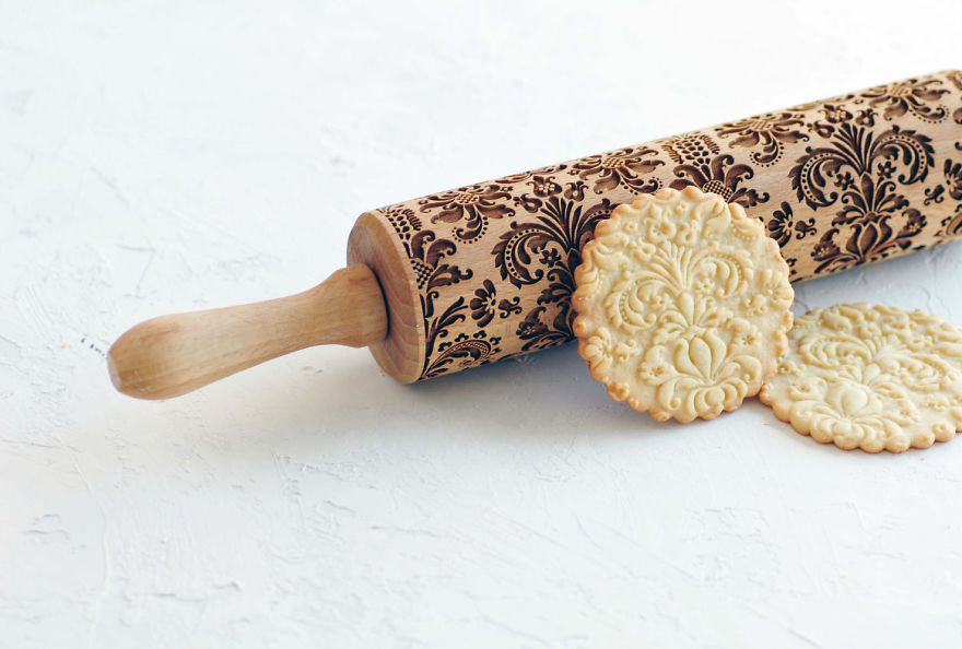 Rock N Roll Your Gingerbread With Awesome Rolling Pins By
