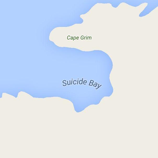 Suicide Bay, Tasmania, Australia