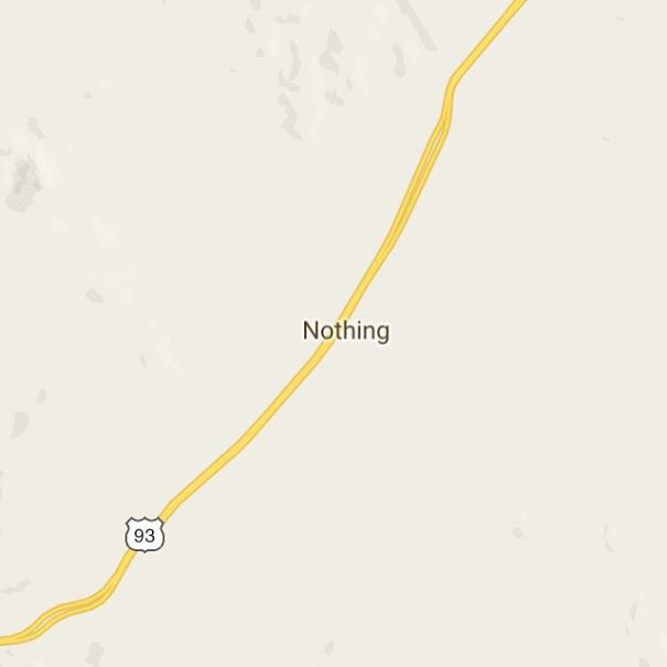 Nothing, Arizona, USA