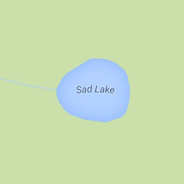 Sad Lake, Oregon, USA