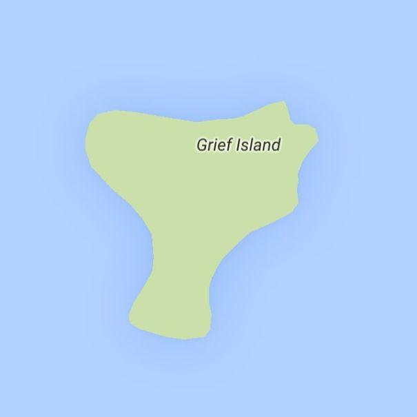 Grief Island, Alaska, USA