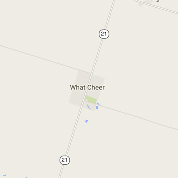 What Cheer, Iowa, USA