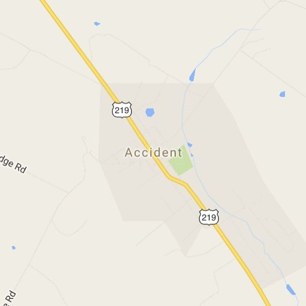 Accident, Maryland, USA