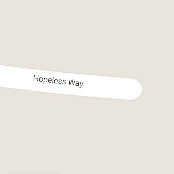 Hopeless Way, Bunkerville, Nevada, USA