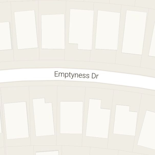 Emptyness Drive, Cypress, Texas, USA