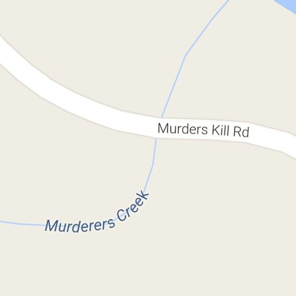 Murderers Creek, Murders Kill Road, Athen, New York, USA