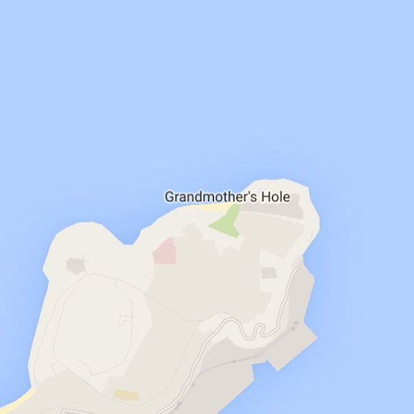 Grandmother's Hole, Goa, India