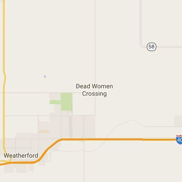 Dead Women Crossing, Oklahoma, USA
