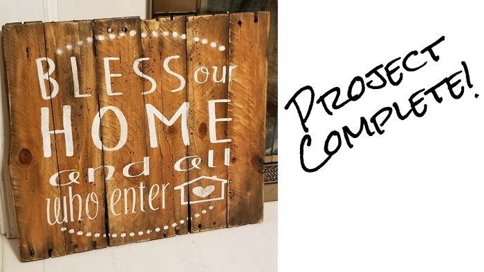 I Make Rustic Wood Signs From Repurposed Pallet Wood