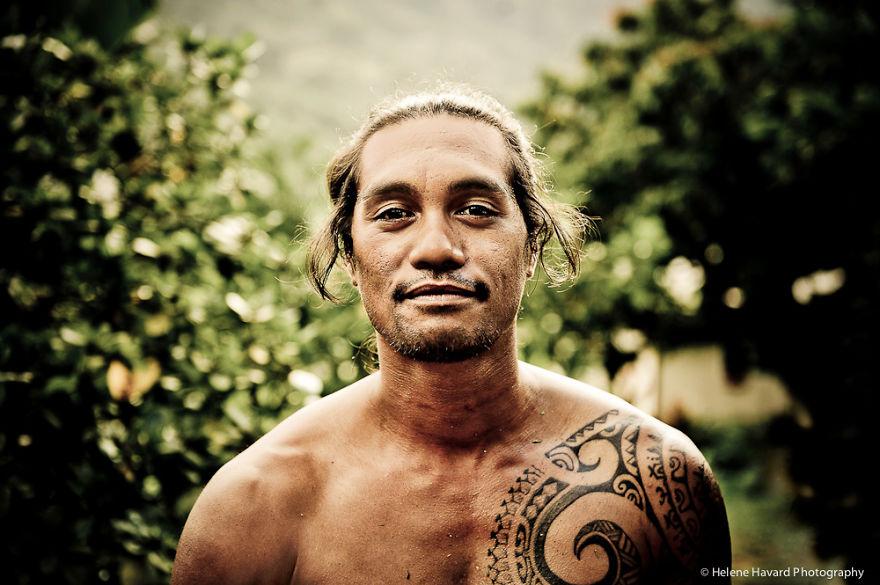 Tahiti Portrait