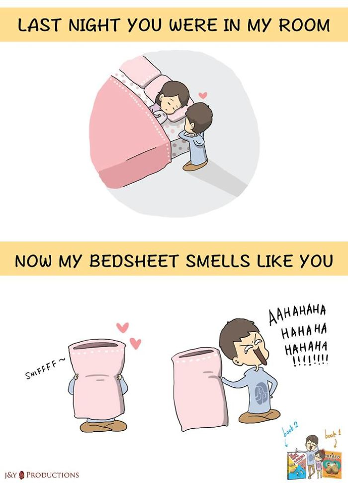 Not Gonna Wash The Bedsheet For A Year