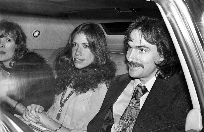 Carly Simon And Husband James Taylor