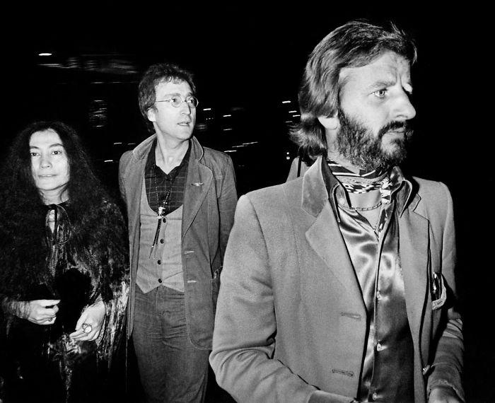 Ringo, John Lennon And Yoko, 1976