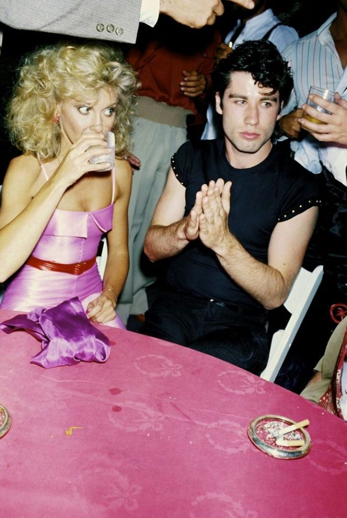 Olivia Newton John And John Travolta, 1978