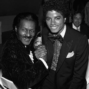 Chuck Berry And Michael Jackson, 1979