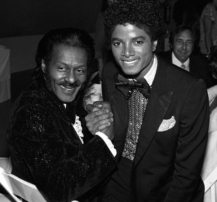 Chuck Berry Y Michael Jackson, 1979