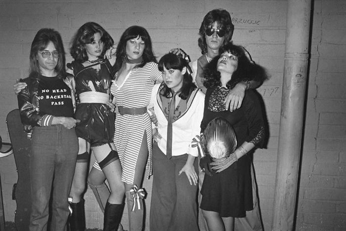Rodney And Backstage Pass, 1977