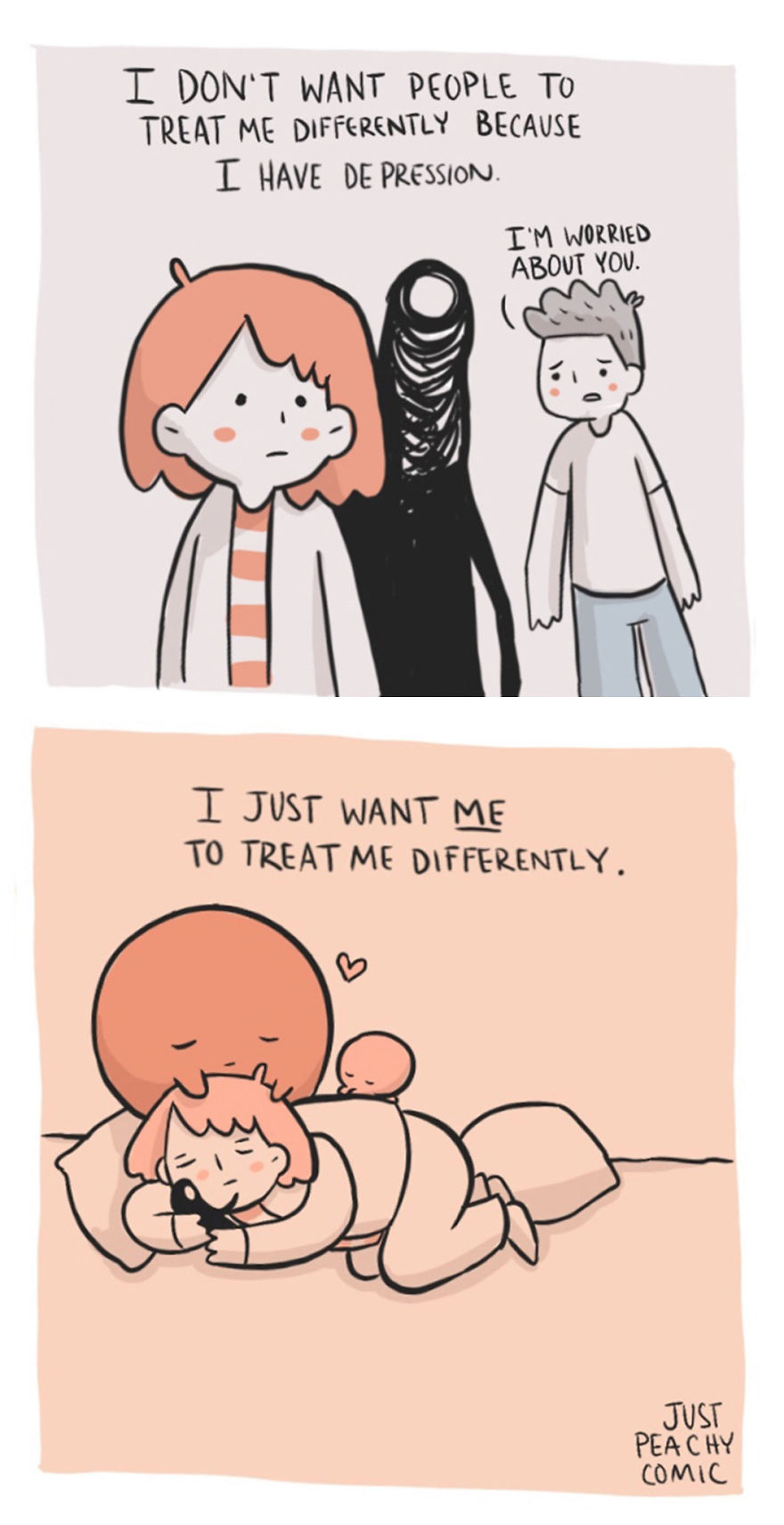 These Comics Perfectly Describe What It's Like To Have Depression And Anxiety