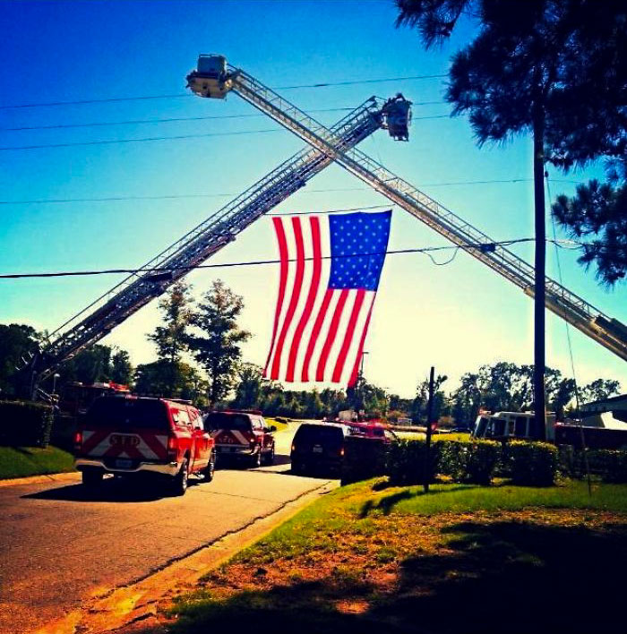 Fire Department Honoring My Dad At His Funeral