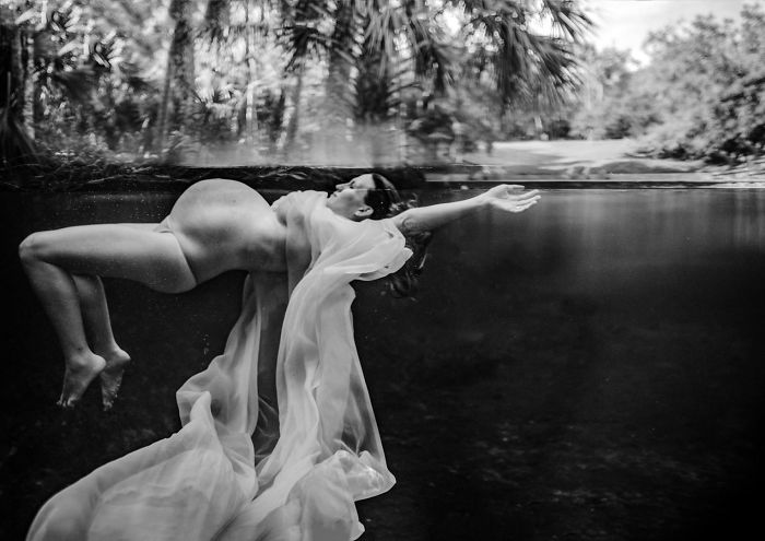 "Maternity Second Place. Melissa Benzel Of Benzel Photography – Serving Orlando, Florida – ""Staying Afloat"""