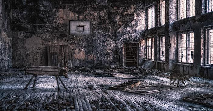 Pripyat Sports Hall, Chernobyl Exclusion Zone