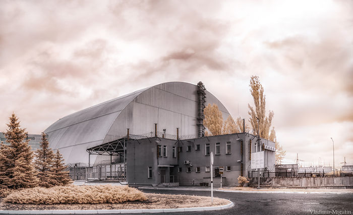 The Nuclear Power Plant Sarcophagus, Chernobyl Exclusion Zone