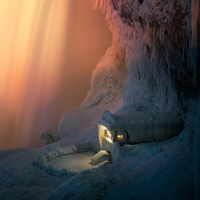 Icy Niagara Falls Looked Like A Different Planet