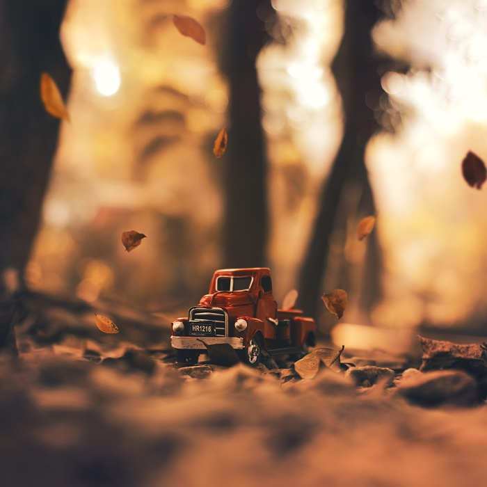 I Capture Natural Bokeh With My Toy Cars!