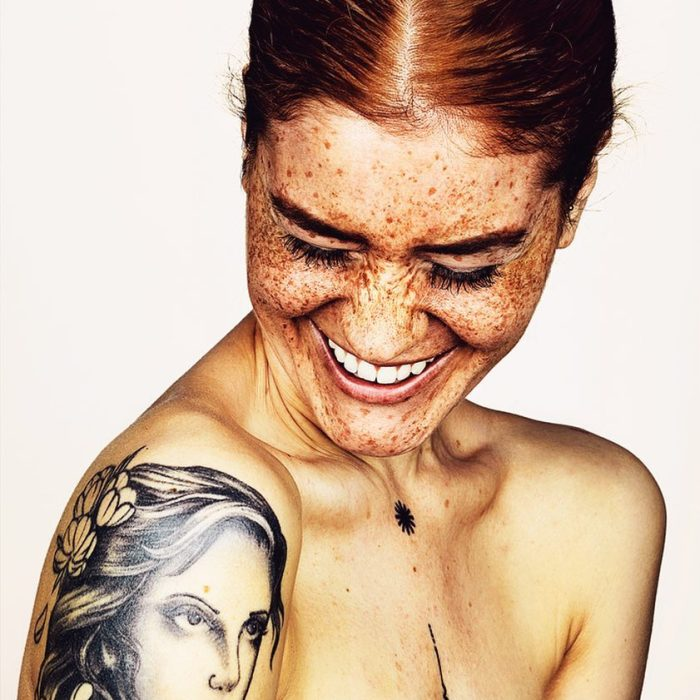 Photographer Takes Portraits Of Freckled People To Celebrate Their Unique Beauty
