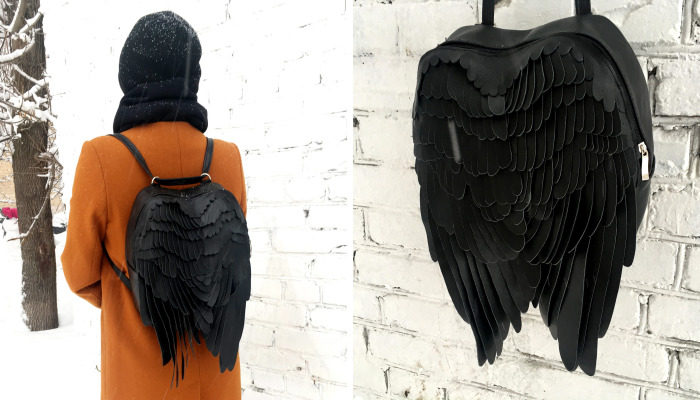 The Wings Backpack… Take A Harder Way!
