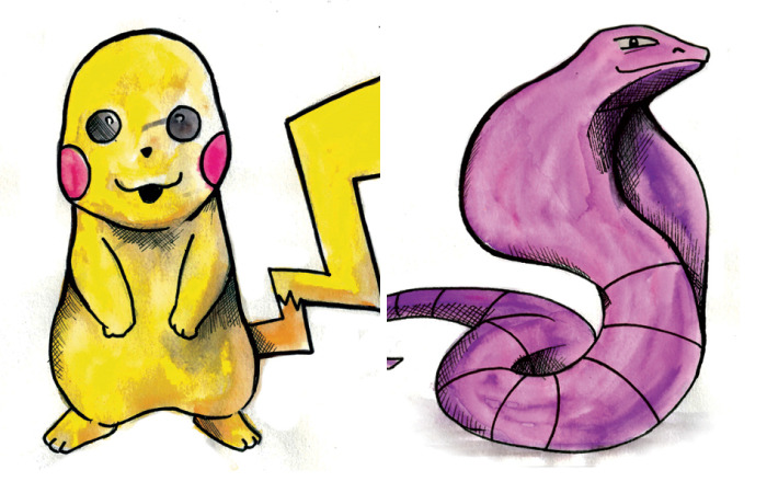 I Remixed Pokémon Without Their Iconic Features, Try To Unsee!