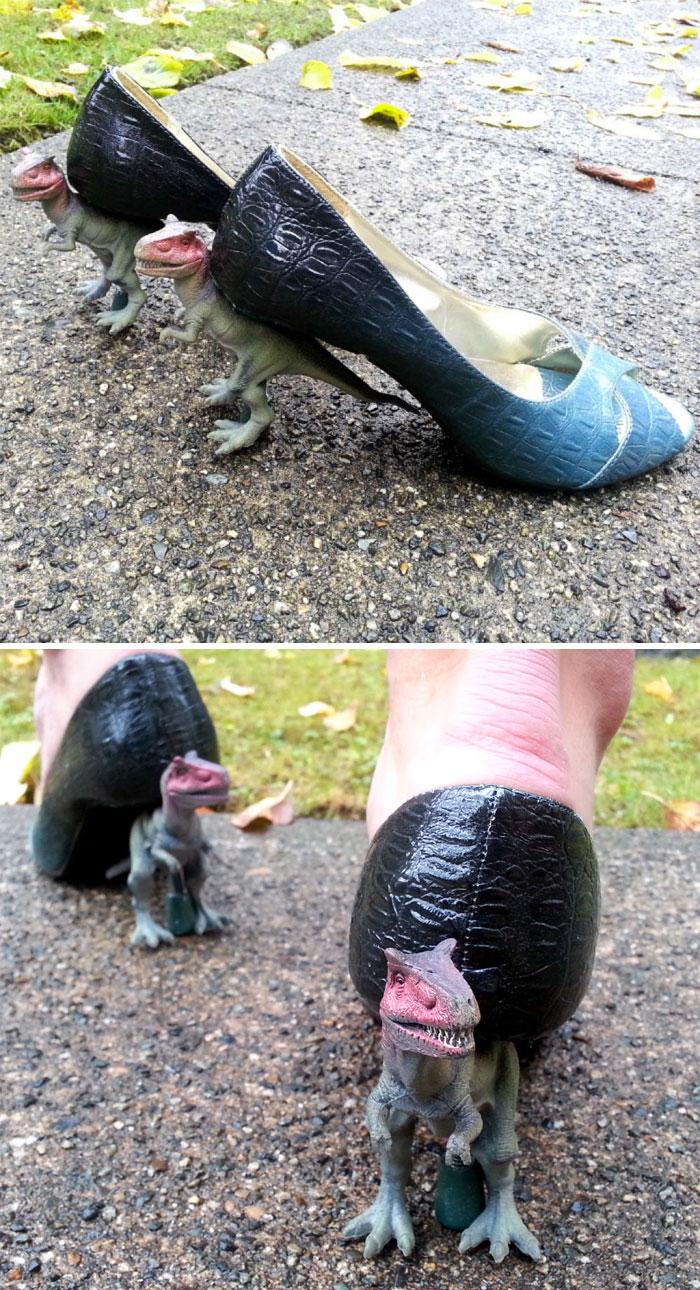 T-Rex Heels