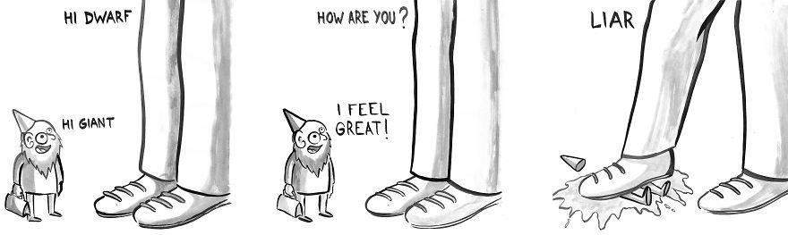 When Giant Met Dwarf
