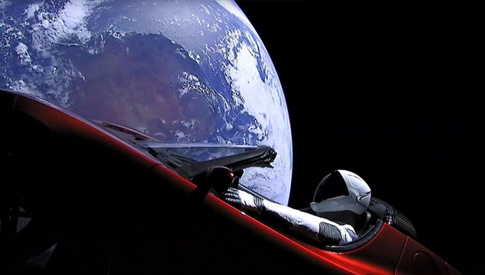47 Of The Funniest Reactions To Elon Musk Sending Tesla Car To Mars