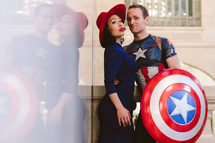 Instead Of Taking Boring Engagement Pics, This Couple Decided To Take It To The Next Level