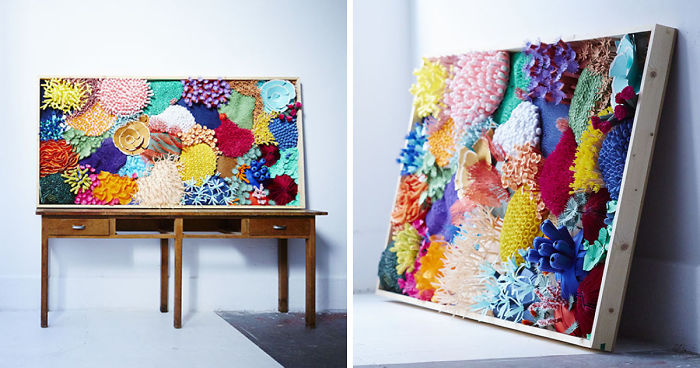 I've Spent 4 Months To Create This Coral Piece With Paper