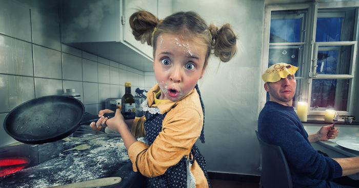 Creo divertidas manipulaciones fotográficas con mis 4 hijos, y esto es lo que hemos logrado hasta ahora