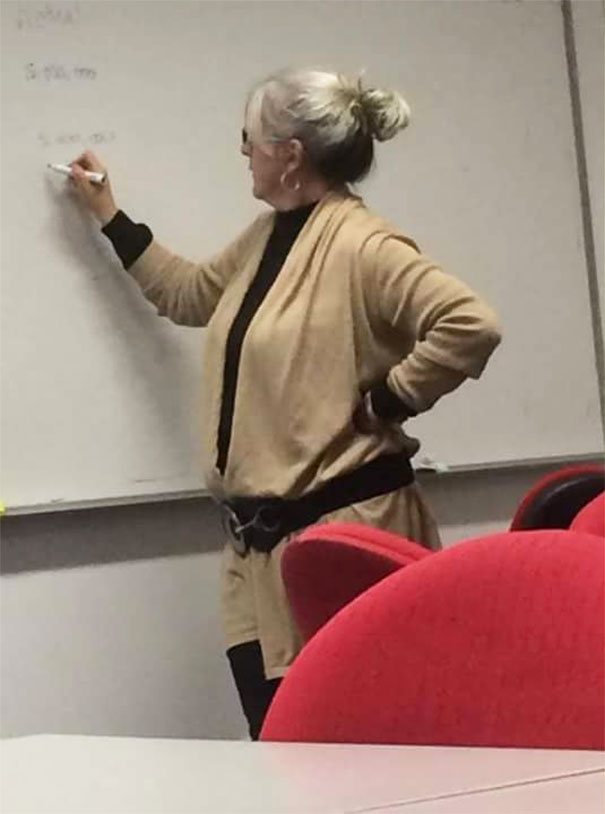 When Your Tutor Is A Jedi Knight