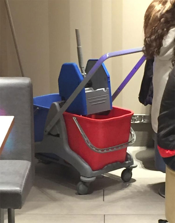 This Mop Wringer Resembles Optimus Prime