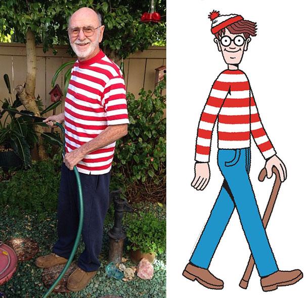My Papa Has No Idea He Slightly Resembles Waldo Today