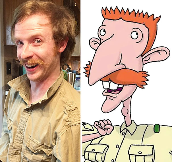 We Have Another Accidental Cosplay Of Nigel Thornberry On Our Hands
