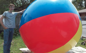 Internet Can't Stop Laughing At This Disappointed Customer's Review Of Giant Inflatable Ball On Amazon