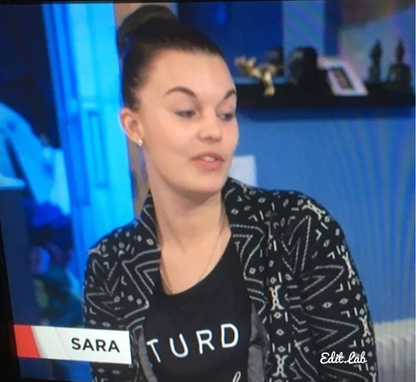 This Was On The News (Sweden). Poor Sara